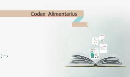 Copy of Codex  Alimentarius