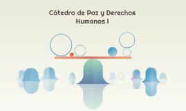 Cátedra de Paz y Derechos Humanos