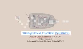 TRABAJO FINAL CONTROL ANALOGICO