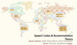 Speech code theory