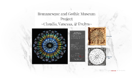 Romanesque and Gothic Museum Project
