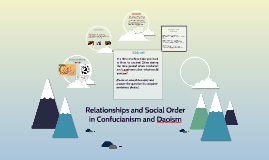 Relationships and Social Order