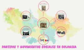 partidos y movimientos sociales en colombia