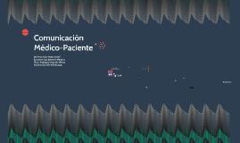 Comunicación Médico-Paciente