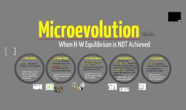 BI 1: Microevolution