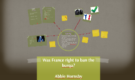 Copy of Were the French right to ban the burqa?