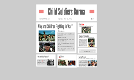 Child Soldiers Burma