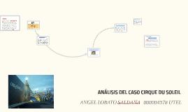 ANÁLISIS DEL CASO CIRQUE DU SOLEIL
