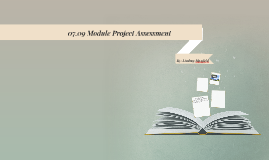 07.09 Module Project Assessment