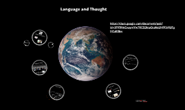 Chapter 9 - Language and Thought