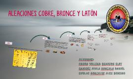 ALEACIONES COBRE, BRONCE Y LATÓN