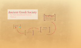 Ancient Greek Society