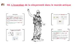 2nde - H2 - L'invention de la citoyenneté dans le monde antique