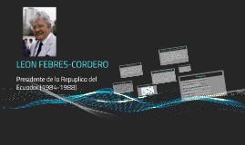 LEON FEBRES CORDERO