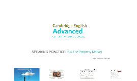 ADVANCED (CAE) 2.4 The Property Market