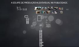 EQUIPE DE PRODUÇÃO AUDIOVISUAL - PUBLICIDADE