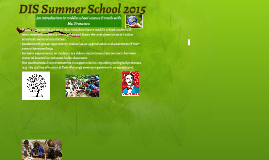 DIS Summer School 2015