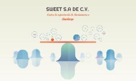 SWEET S.A DE C.V.