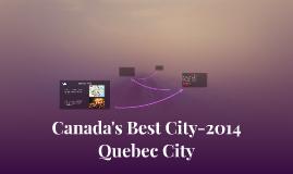 Canada's Best City-2014