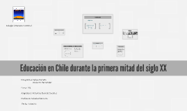 Copy of Educación en Chile durante la primera mitad del siglo XX