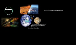 atmosphere to Mars atmosphere, what's the dif?