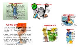 Copy of Etapas de limpieza e higienizacion