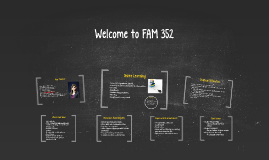 Welcome to FAM 352