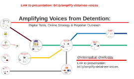 Amplifying Voices from Detention