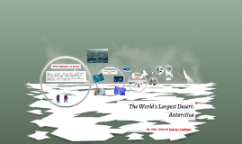 The World's Largest Desert
