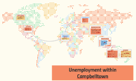 The issue of unemployment within Campbelltown