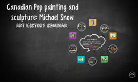 Canadian Pop painting and sculpture