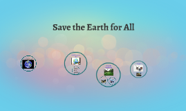 How can we save the earth?