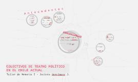 Colectivos de teatro político en el Chile actual