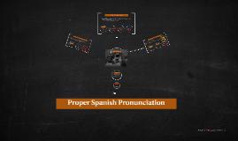 Intro to Spanish Pronunciation