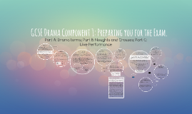 GCSE Drama Component 1: Preparing you for the Exam.