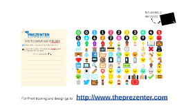 Copy of Free Prezi Design with Icons
