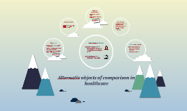 Alternativ objects of comparison in healthcare