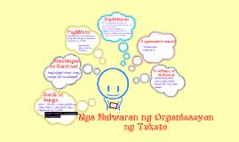 Copy of Mga Hulwaran ng Organisasyon ng Teksto