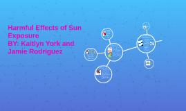 Harmful effects of sun