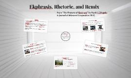 Ekphrasis, Rhetoric, and Remix