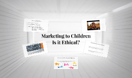 Marketing to Children