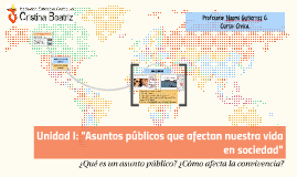 Unidad I: Asuntos públicos