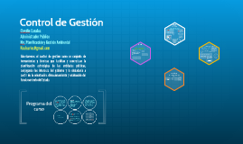 Copy of Control de Gestión