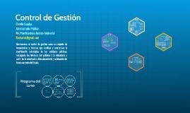 Copy of Control de Gestión