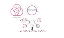 LA POLíTICA SEGUN PLATÓN