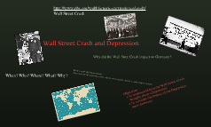 Wall Street Crash and Depression