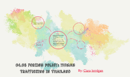 04.06 Foreign Policy: Human Trafficking in thailand