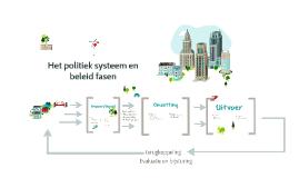 Het politiek systeem en beleid fasen