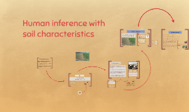 Human inference with  soil characteristics