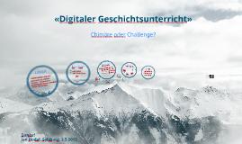 Digitaler Geschichtsunterricht
